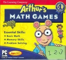 Arthur's Math Games PC (Ages 4-7) Learn Addition, Subtraction, Fractions & More