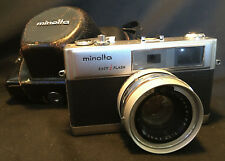 Old Collectible Minolta Hi-Matic 9 with Leather Case