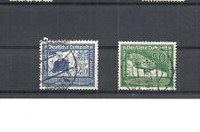 Deutsches Reich, 1938 Michelnummern: 669 - 670 o, gestempelt o, Katalogwert € 4