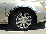 Fits Cadillac Deville 2000-2005 Polished Stainless Steel Fender Trim 3/4 Style