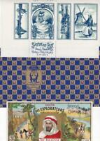 Lot 3 French Soap Labels Cosmydor 1910 Florise 1920 Paul Tranoy 1930