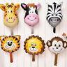 5pcs/Set Animal Head Shape Foil Balloon Birthday Wedding/Party Baby Shower_Decor