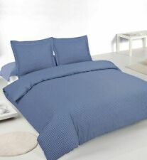 LUXURY 100% QUALITY CHECK DUVET COVER WITH PILLOW CASES SINGLE DOUBLE KING SIZE