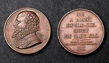 Médaille MAX.DE BETHUNE DUC DE SULLY. Grandes Hommes Français. 1822. Cuivre