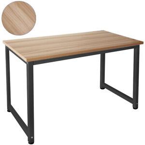 Tisch Computertisch PC Schreibtisch Bürotisch 120x60cm Walnuss Schwarz Kingpower