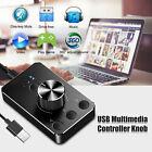 USB Media Volume Controller Knob Audio Adjuster Video PC Computer Speaker Switch