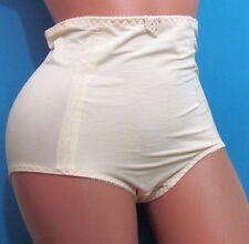 B5 Ivory  girdle high waist soft ruched brief sissy panties M L XL XXL
