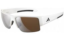 dec181f926 Adidas Retego A376 00 6051 Pearl White frame   Dark Brown lenses Sunglasses