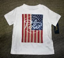 Polo Ralph Lauren Toddler Boys White T-Shirt - Size 2T - NWT