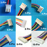 Micro JST Cable XH 2.5mm 2/3/4/5/6/7/8/9/10 Pin Male Connector with Cable 20Sets