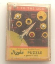 Vintage 1950's Dexterity Game- Trip to the Moon Comon Tatar Inc. Blasdell, NY