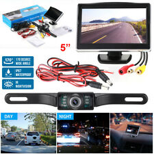 "Night Vision Wireless Car Backup Camera Rear View System + 5"" TFT LCD Monitor US"