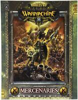 Warmachine Manual - Mercenaries - 9781933362649 - Softback ENG