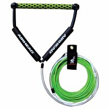 Airhead Dyneema Flat Line 4 Section No Stretch Wakeboard Waterski Rope Green