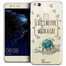 """Coque Crystal Gel Pour Huawei P10 LITE (5.2"""") Souple Quote Life's Better With a"""