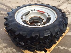 STOCKS AG WHEELS A-350 9.5 R28 FRONT TYRES X 2  STOCK NUMBER :- 51022105