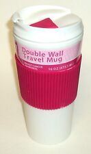 Breast Cancer Awareness 16 oz Double Wall Travel Mug New With Tag
