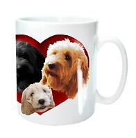 Cockapoo Gift Mug 3 Cockapoos Heart Cockerpoo Dogs Birthday Gift Mothers Day
