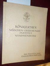 Königliches Mädchen-Erziehungsinstitut Nymphenburg-Inst. der englischen Fräulein