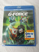 New Sealed Disney G-Force Blu-Ray Blu Ray Bluray + DVD 2 Disc Combo Pack