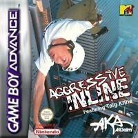 Nintendo GameBoy Advance Spiel - Aggressive Inline Modul