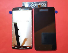 DISPLAY +TOUCH SCREEN PER MOTOROLA MOTO C XT1754 XT1755 NERO VETRO RICAMBIO LCD