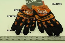 FOX RACING DIRTPAW GLOVES (ORANGE-BLACK) 01055-009-M