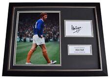 Alan Ball Signed Framed Photo Autograph 16x12 display Everton FC AFTAL COA