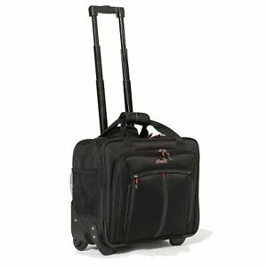 """2 Wheel Spinner 17"""" Laptop Luggage Cabin Trolley Business Office Travel Bag Case"""