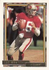 1992 Topps Gold #719 Joe Montana 49ers
