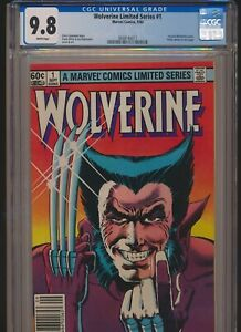 MARVEL WOLVERINE LIMITED SERIES #1 1982 CGC 9.8 WP NEWSSTAND 1st SOLO SERIES