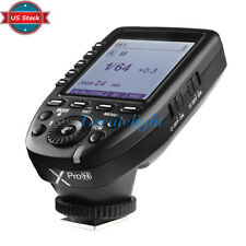 US Stock Godox XPro-N 2.4G TTL Wireless X System Flash Trigger For Nikon Camera