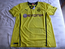 NWT Puma 2013/2014 Borussia Dortmund Yellow Home Jersey (Men Size XL)
