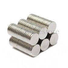 100 Piezas Imán Imanes De Neodimio NdFeB Disco 6 x 1 mm Magnet Envío Fuerza N35