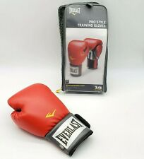 (1) GLOVE Everlast Red Training Boxing Sparring Fighting Fitness 14oz RIGHT HAND