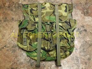 US Military Alice Pack MEDIUM Main Pack Rucksack Backpack Woodland NO Straps EXC
