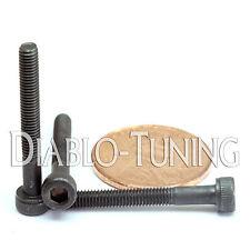 3mm x 0.50 x 25mm - Qty 10 - SOCKET HEAD CAP Screws 12.9 Alloy Steel Black Ox M3