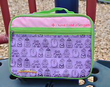 AllerMates Insulated Lunch Bag Kids Pack Food Allergies Box Health Alert Carry