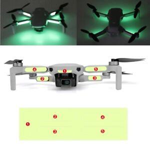 2Set Luminous Reflective Stickers for Drone DJI Mavic Mini 2 Night Flight Decals