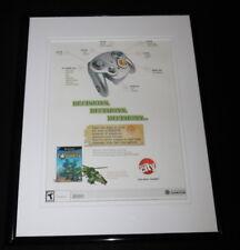 Battalion Wars 2005 Gamecube / Circuit City Framed 11x14 ORIGINAL Advertisement