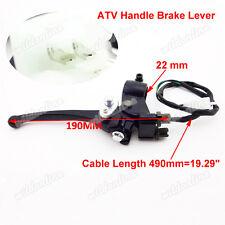 Dual Double Chinese ATV Handle Brake Lever Fit 49cc 50cc 70cc 90cc 110cc