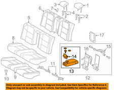 Lexus TOYOTA OEM 2013 ES300h Rear Seat-Armrest 7284033110B2