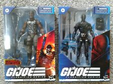G I JOE Classified Snake Eyes Roadblock Mib Cobra Island