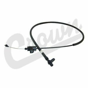Crown Throttle Control Cable for 91-01 Cherokee / Comanche 2.5L / 4.0L AW4 Trans