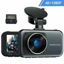 4K 2160p Autokamera Dashcam Dual Lens Auto DVR Recorder Nachtsicht Park Monitor
