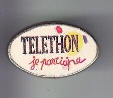 RARE PINS PIN'S .. TV RADIO PRESSE A2 FR3 TELETHON  CHALLENGE JE PARTICIPE  ~DI