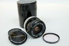 Canon FD 28mm f2.8 Wide-Angle Lens