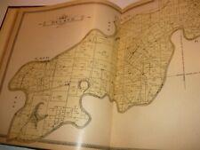 1903 HISTORICAL  ATLAS OF KNOX COUNTY.INDIANA,VINCENNES,VIGO,RARE ORIGINAL MAPS