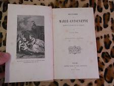 HISTOIRE DE MARIE-ANTOINETTE - J.-J.-E. ROY - Mame, 1889
