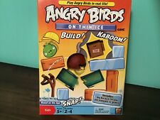 NEW Angry Birds Board Game On Thin Ice Mattel Collectible Pigs TNT Figures NEW